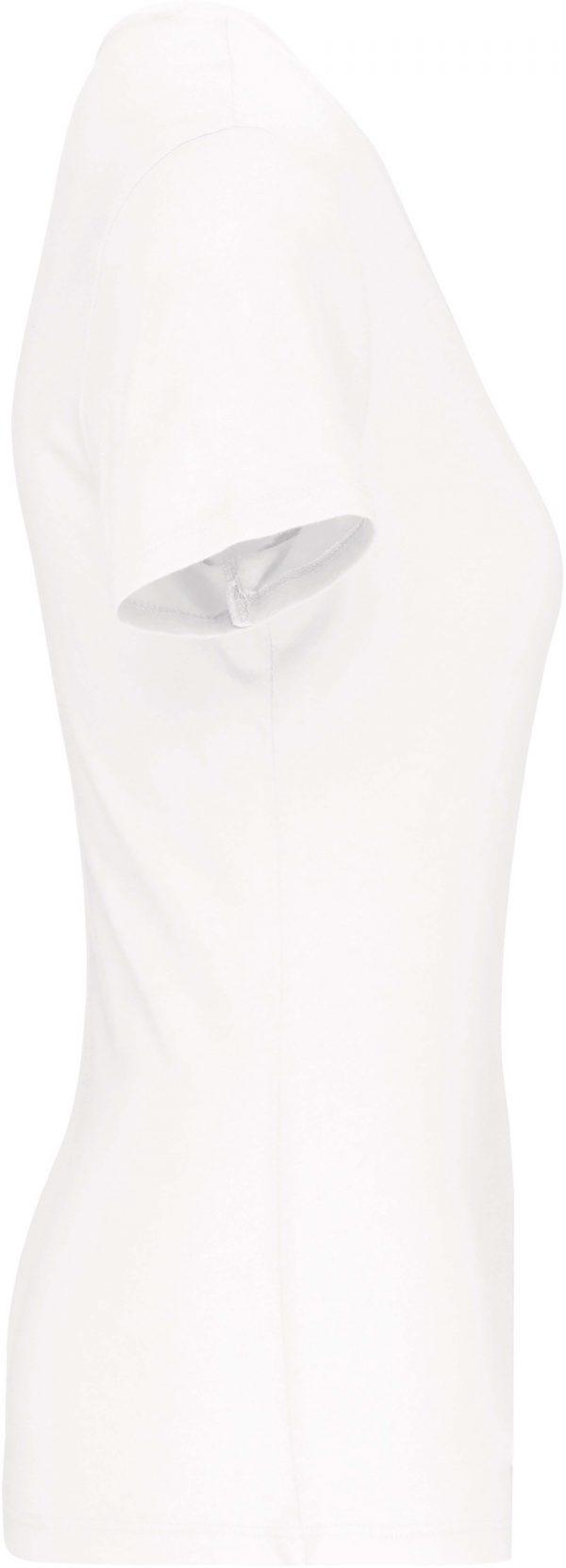 Tee Shirt Blanc Col V Femme 2 | Soirée Blanche