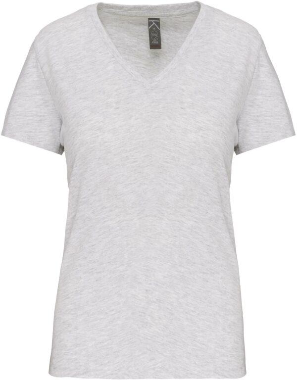 Tee Shirt Blanc Col V Femme 7 | Soirée Blanche