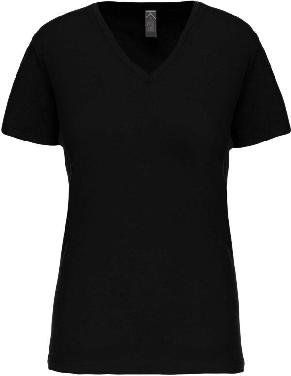 Tee Shirt Blanc Col V Femme 6 | Soirée Blanche