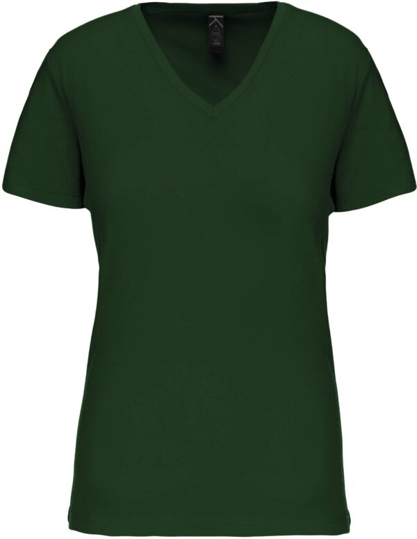 Tee Shirt Blanc Col V Femme 5 | Soirée Blanche