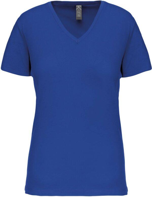 Tee Shirt Blanc Col V Femme 4 | Soirée Blanche