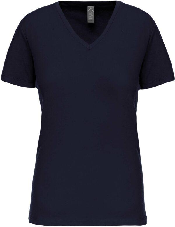 Tee Shirt Blanc Col V Femme 3 | Soirée Blanche