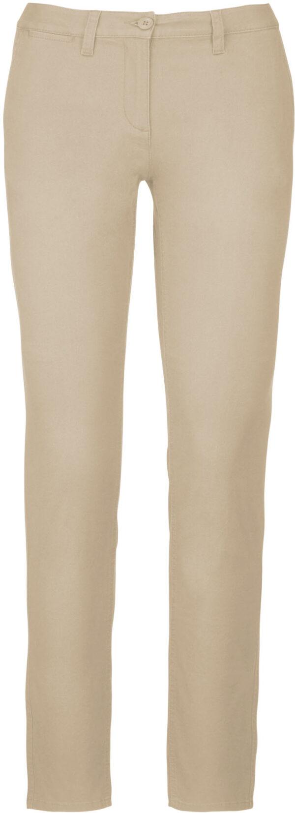 Pantalon Femme Blanc beige