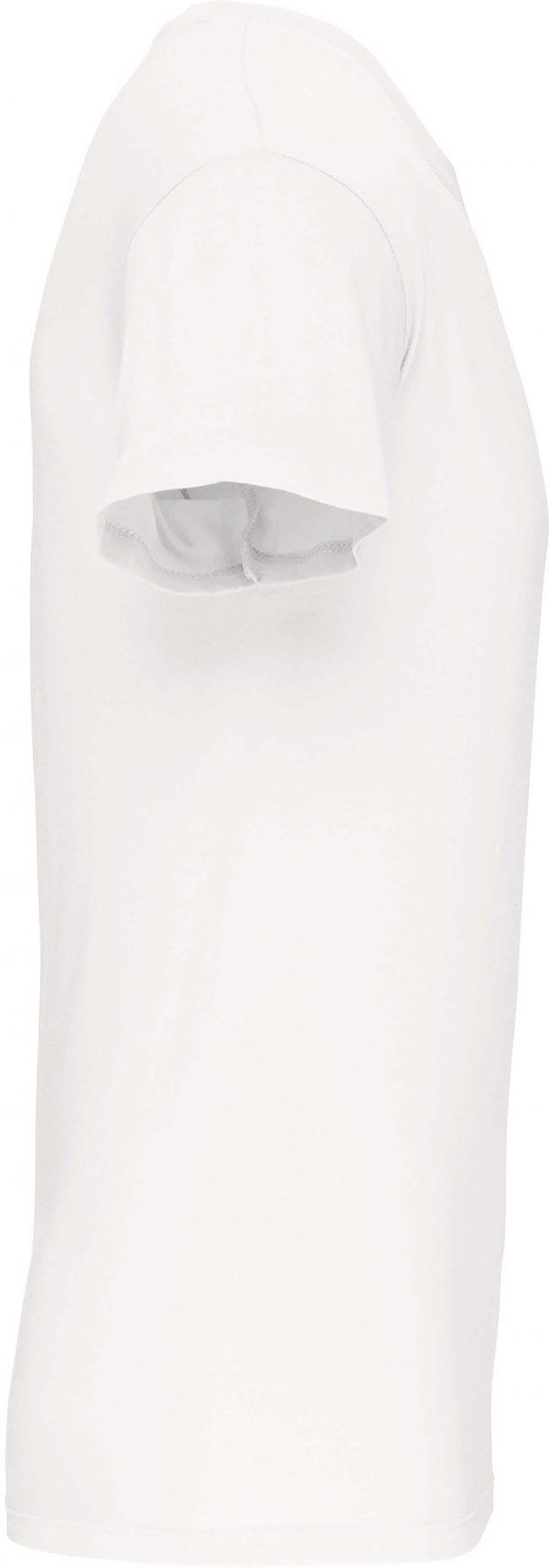 Tee Shirt Blanc Col V Homme 2   Soirée Blanche