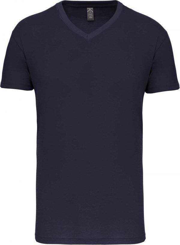 Tee Shirt Blanc Col V Homme 7   Soirée Blanche