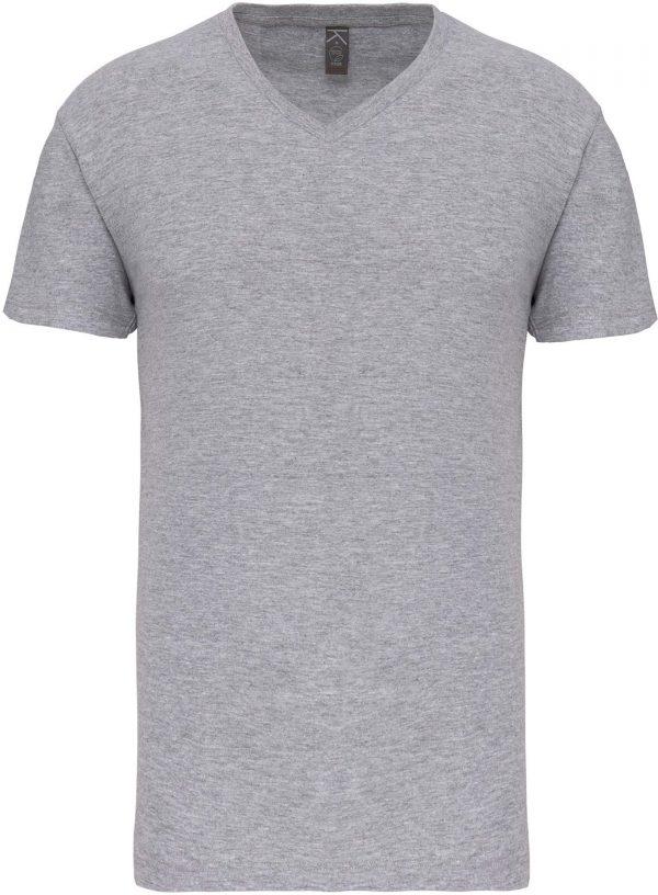 Tee Shirt Blanc Col V Homme 6   Soirée Blanche