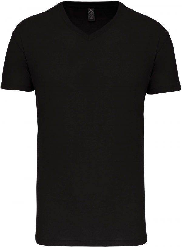 Tee Shirt Blanc Col V Homme 5   Soirée Blanche