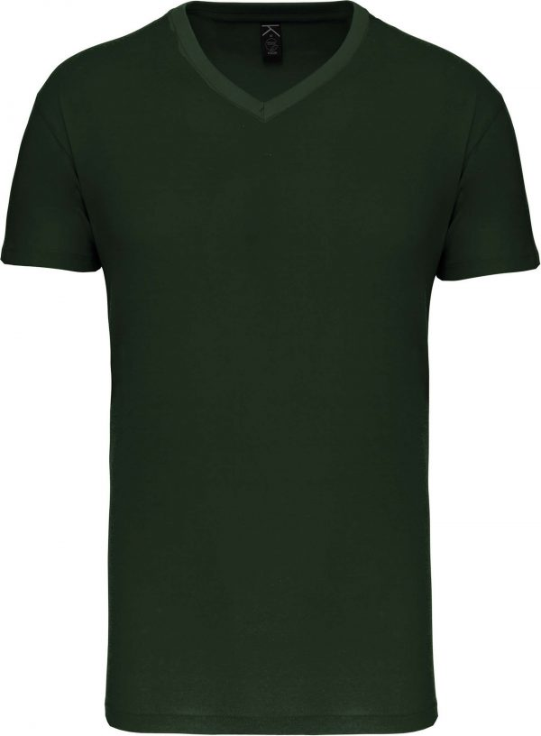 Tee Shirt Blanc Col V Homme 3   Soirée Blanche