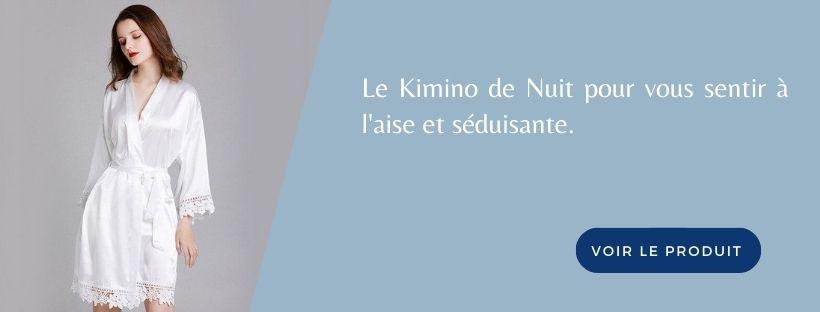 Bannière Kimono de Nuit Blanc