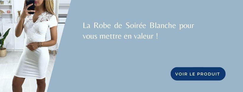 Bannière Robe de Soirée blanche