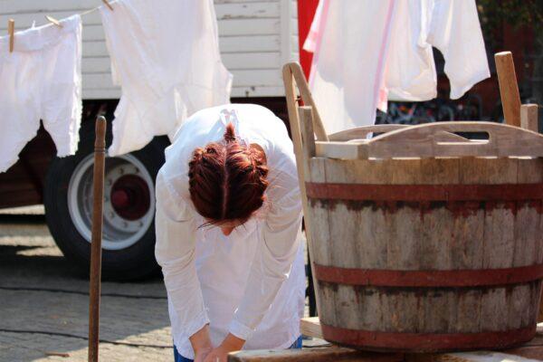laver le linge blanc