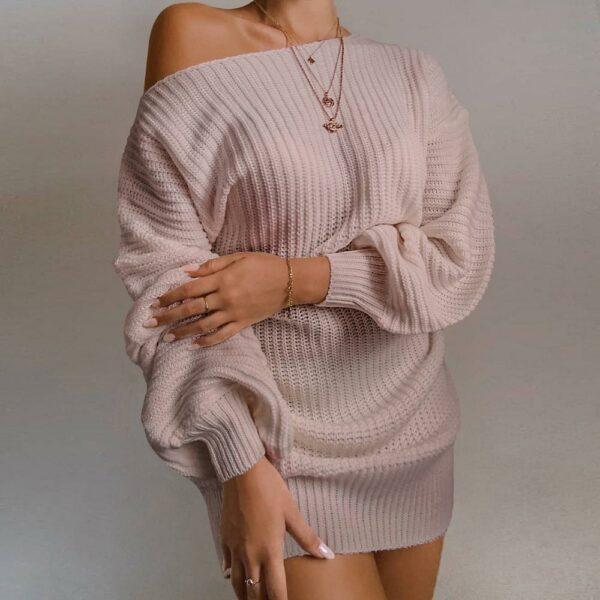 Long Pull Blanc Femme 7 | Soirée Blanche