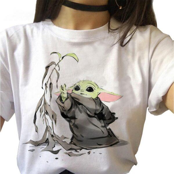 Tee Shirt Mandalorian 3 | Soirée Blanche