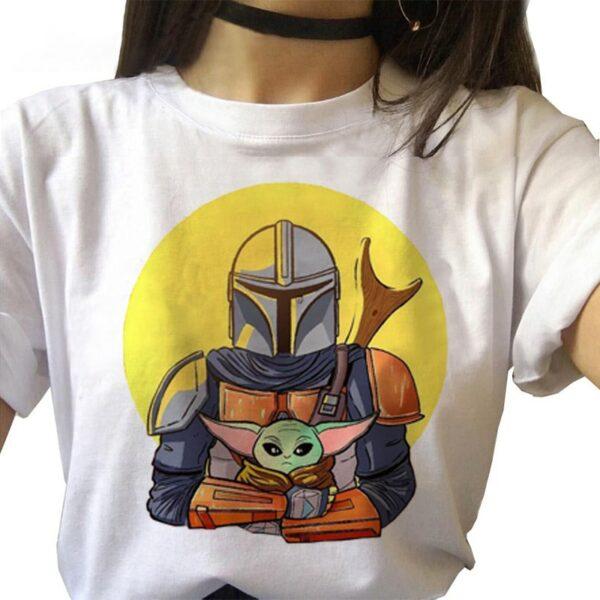 Tee Shirt Mandalorian 2 | Soirée Blanche