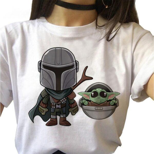 Tee Shirt Mandalorian 7 | Soirée Blanche