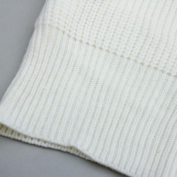 Long Pull Blanc Femme 6 | Soirée Blanche