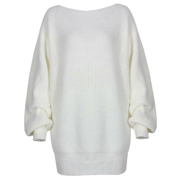 Long Pull Blanc Femme 2 | Soirée Blanche