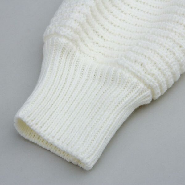 Long Pull Blanc Femme 4 | Soirée Blanche