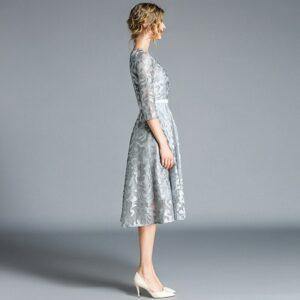 Robe Blanche Patineuse 7 | Soirée Blanche