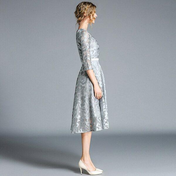 Robe Blanche Patineuse 3 | Soirée Blanche