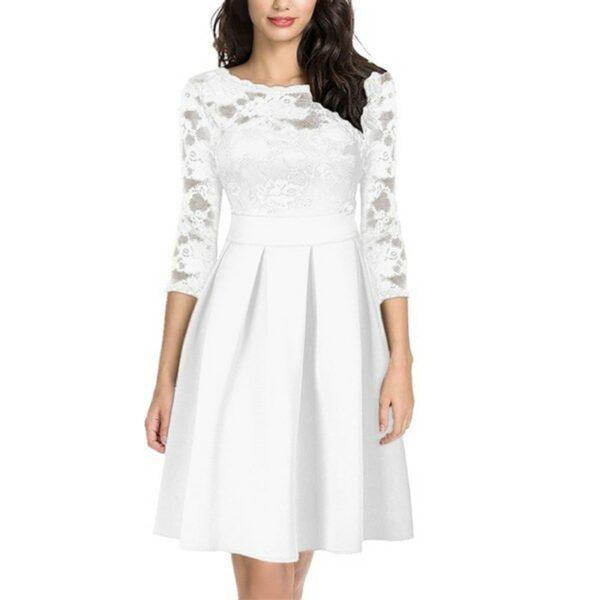 Robe Soirée Blanche 1 | Soirée Blanche
