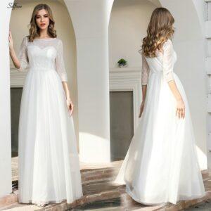 Robe Blanche Mariage Civil 10 | Soirée Blanche