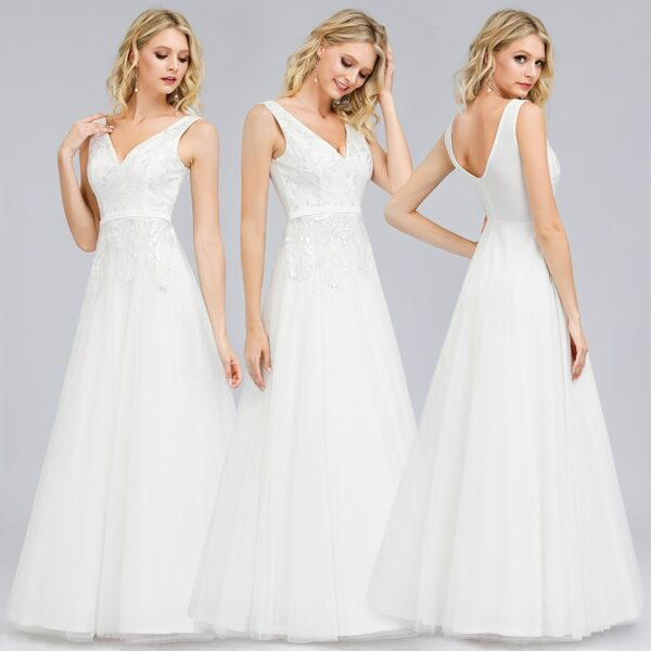Robe Blanche Mariage Civil 6 | Soirée Blanche