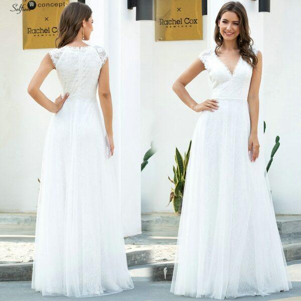 Robe Blanche Mariage Civil 5 | Soirée Blanche