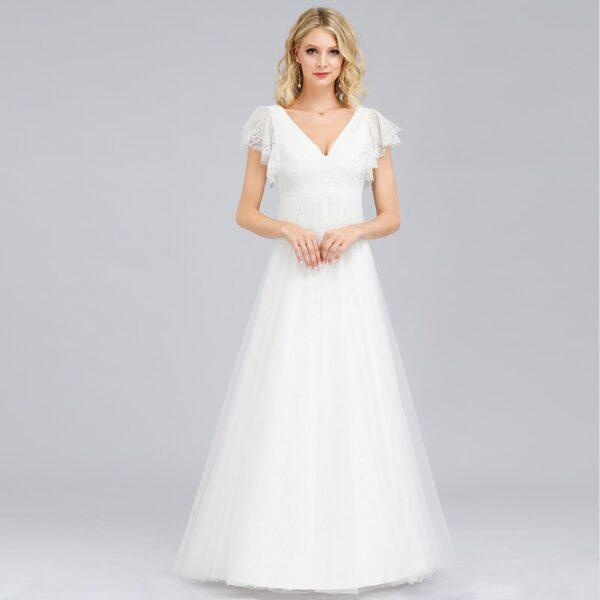 Robe Blanche Mariage Civil 8 | Soirée Blanche