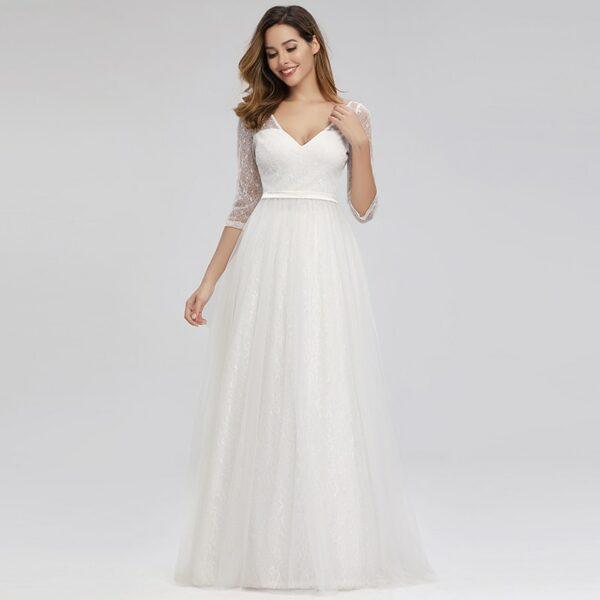 Robe Blanche Mariage Civil 7 | Soirée Blanche