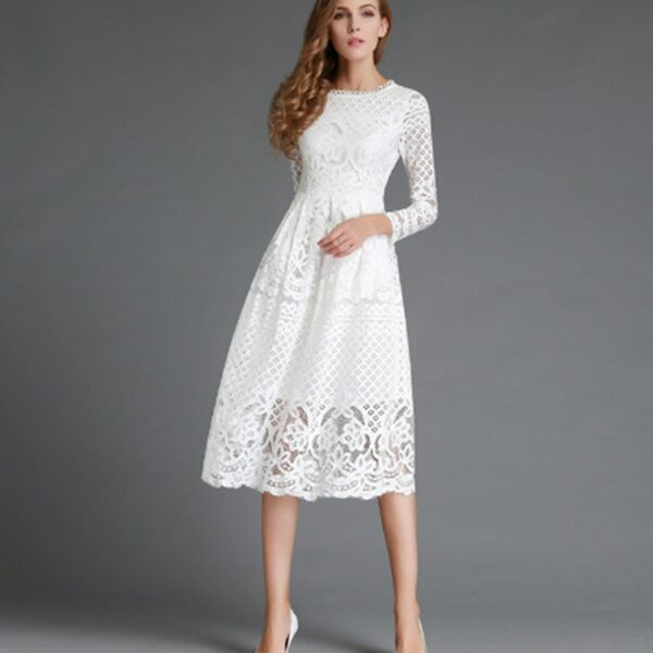 Robe Cocktail Blanche 5 | Soirée Blanche