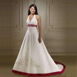 Robe De Mariée Rouge Et Blanche 8 | Soirée Blanche