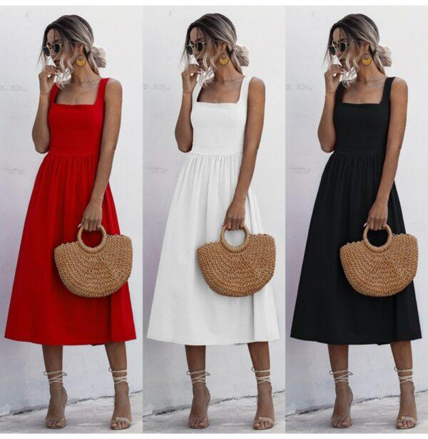 Robe Simple Blanche 4 | Soirée Blanche
