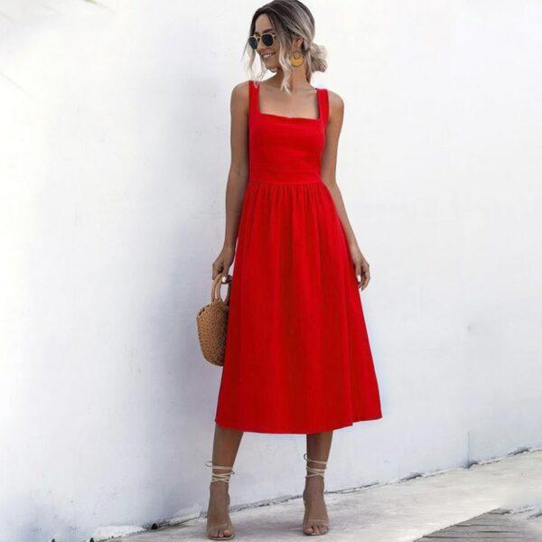 Robe Simple Blanche 7 | Soirée Blanche