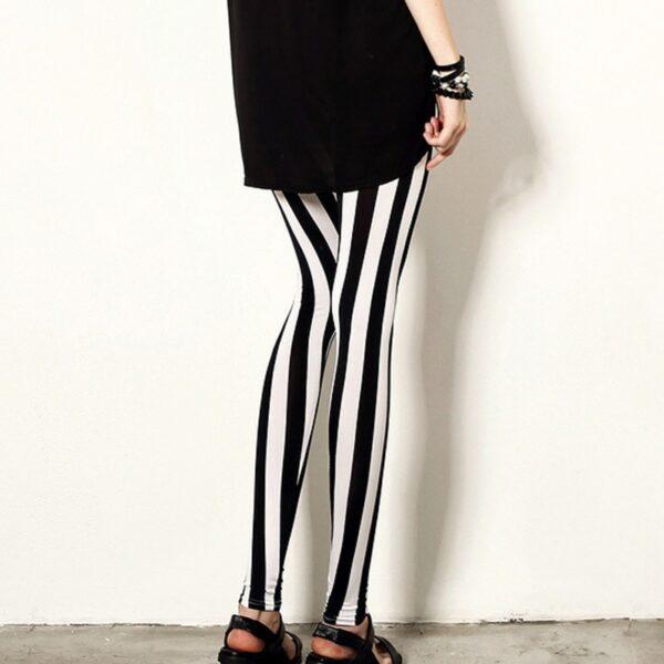 Pantalon Carreaux Noir Et Blanc Femme 5   Soirée Blanche