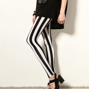 Pantalon Carreaux Noir Et Blanc Femme 26   Soirée Blanche
