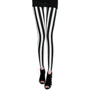 Pantalon Carreaux Noir Et Blanc Femme 25   Soirée Blanche