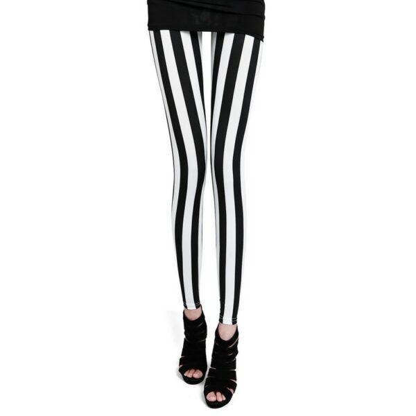 Pantalon Carreaux Noir Et Blanc Femme 2   Soirée Blanche