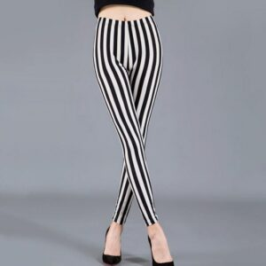 Pantalon Carreaux Noir Et Blanc Femme 43   Soirée Blanche