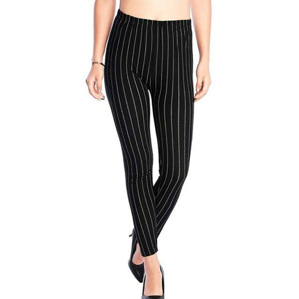 Pantalon Carreaux Noir Et Blanc Femme 22   Soirée Blanche
