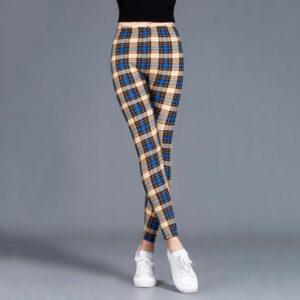 Pantalon Carreaux Noir Et Blanc Femme 35   Soirée Blanche