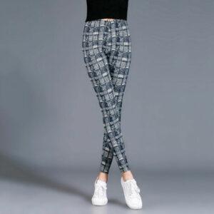 Pantalon Carreaux Noir Et Blanc Femme 33   Soirée Blanche