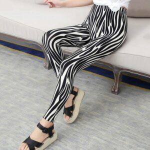 Pantalon Carreaux Noir Et Blanc Femme 31   Soirée Blanche