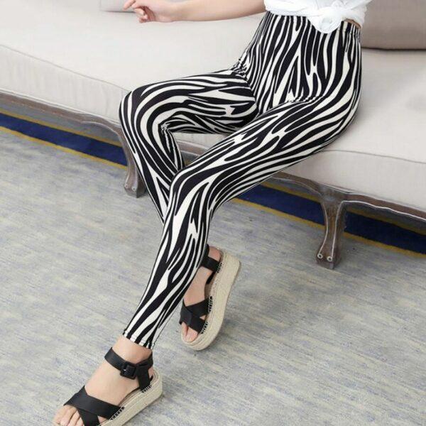 Pantalon Carreaux Noir Et Blanc Femme 8   Soirée Blanche