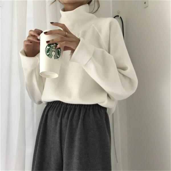 Pull Blanc Femme Coton 2 | Soirée Blanche