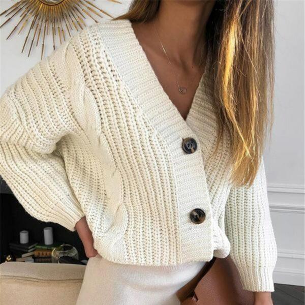 Gilet Blanc Col V Femme 8 | Soirée Blanche