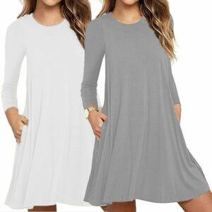 Robe Tunique Large Blanche 12 | Soirée Blanche