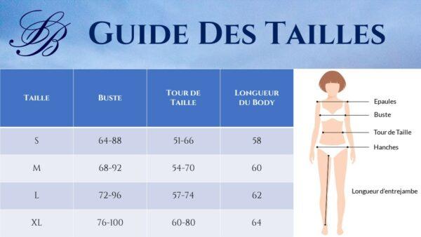 Body Dentelle Décolleté V 7 | Soirée Blanche
