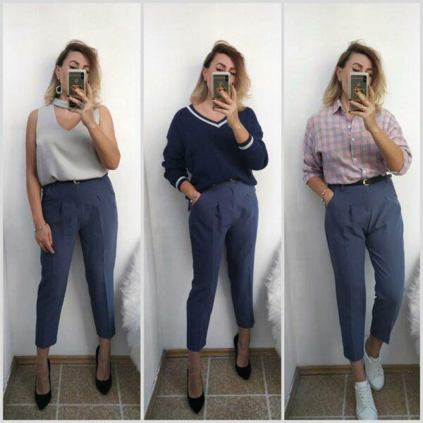 Pantalon Blanc Femme Taille Haute 7 | Soirée Blanche
