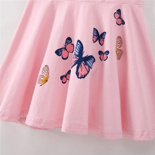 Robe Blanche Papillon Fille 7 | Soirée Blanche